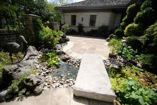 White Wallace Residence Ron Koudys Landscape Architects Inc